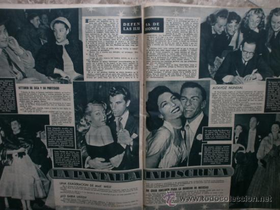 Cine: PRIMER PLANO Nº580.1951.ANN BLYTH,C.GRANT,P.RICO,C.SEVILLA,S.BLANCO,P.NIETO,L.PALMER,TURNER,SINATRA. - Foto 9 - 36690265