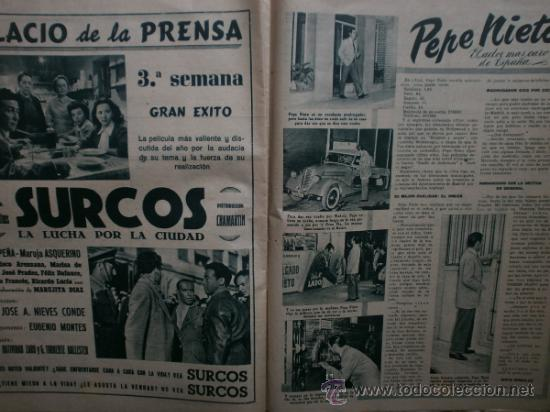 Cine: PRIMER PLANO Nº580.1951.ANN BLYTH,C.GRANT,P.RICO,C.SEVILLA,S.BLANCO,P.NIETO,L.PALMER,TURNER,SINATRA. - Foto 10 - 36690265