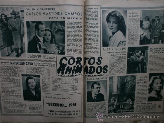 Cine: PRIMER PLANO Nº580.1951.ANN BLYTH,C.GRANT,P.RICO,C.SEVILLA,S.BLANCO,P.NIETO,L.PALMER,TURNER,SINATRA. - Foto 11 - 36690265