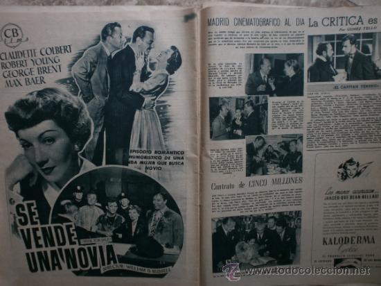 Cine: PRIMER PLANO Nº580.1951.ANN BLYTH,C.GRANT,P.RICO,C.SEVILLA,S.BLANCO,P.NIETO,L.PALMER,TURNER,SINATRA. - Foto 12 - 36690265