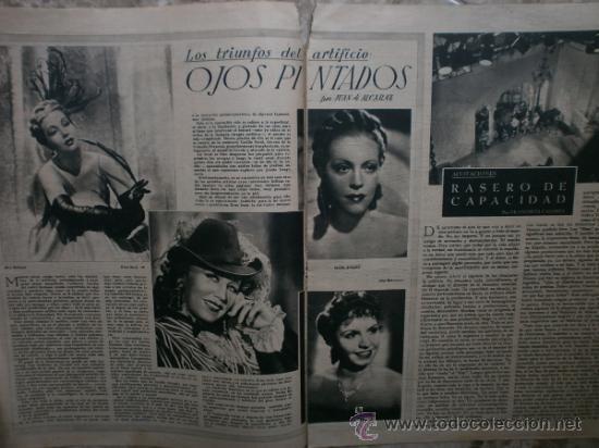 Cine: PRIMER PLANO Nº106.1942.DANIELLE DARRIEUX,J.BAKER,A.MAYO,D.DARRIEUX,P.RUBIROSA,V.GIOI,R.CANCIO,CASAL - Foto 3 - 36690518