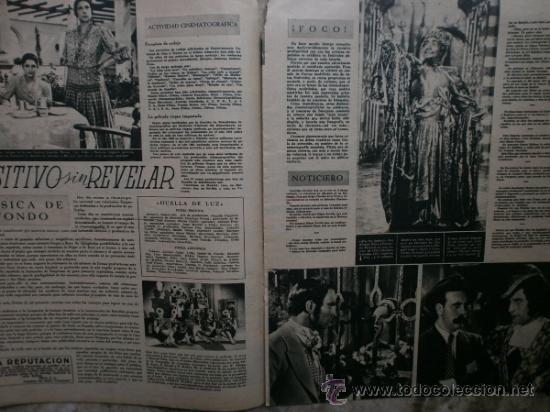 Cine: PRIMER PLANO Nº106.1942.DANIELLE DARRIEUX,J.BAKER,A.MAYO,D.DARRIEUX,P.RUBIROSA,V.GIOI,R.CANCIO,CASAL - Foto 4 - 36690518