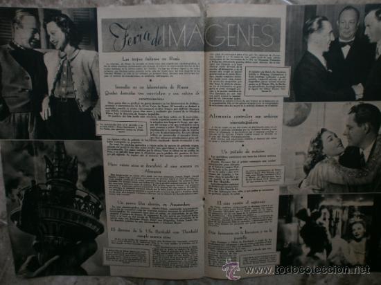 Cine: PRIMER PLANO Nº106.1942.DANIELLE DARRIEUX,J.BAKER,A.MAYO,D.DARRIEUX,P.RUBIROSA,V.GIOI,R.CANCIO,CASAL - Foto 6 - 36690518