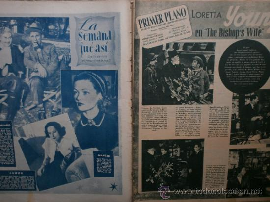 Cine: PRIMER PLANO Nº426.1948.ANN TODD,L.PALMER,Y.DE CARLO,J.ARTHUR,T.POWER,G.GRIN,C.GRANT,B.CROSBY. - Foto 2 - 36690846