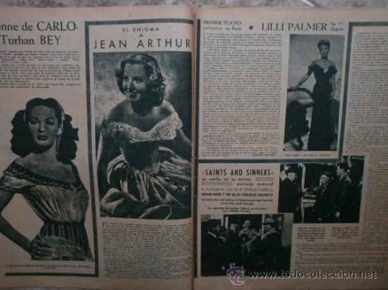 Cine: PRIMER PLANO Nº426.1948.ANN TODD,L.PALMER,Y.DE CARLO,J.ARTHUR,T.POWER,G.GRIN,C.GRANT,B.CROSBY. - Foto 4 - 36690846