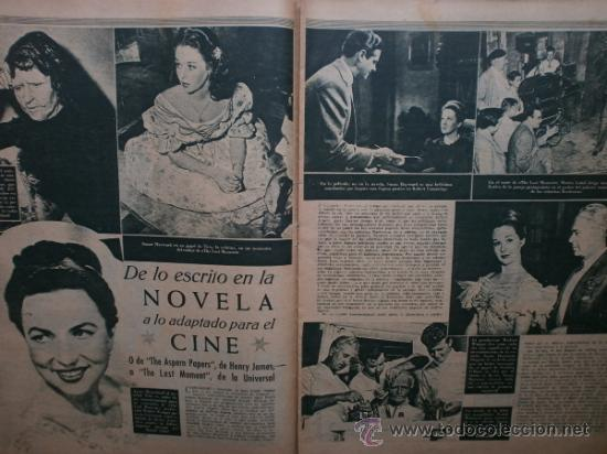 Cine: PRIMER PLANO Nº426.1948.ANN TODD,L.PALMER,Y.DE CARLO,J.ARTHUR,T.POWER,G.GRIN,C.GRANT,B.CROSBY. - Foto 5 - 36690846