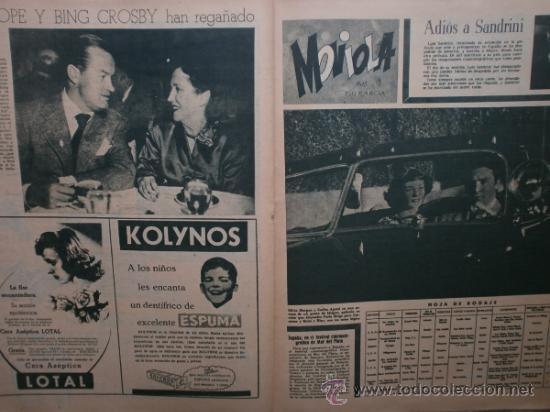 Cine: PRIMER PLANO Nº426.1948.ANN TODD,L.PALMER,Y.DE CARLO,J.ARTHUR,T.POWER,G.GRIN,C.GRANT,B.CROSBY. - Foto 10 - 36690846