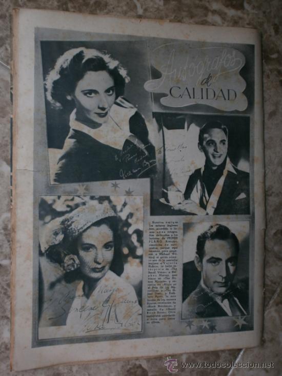Cine: PRIMER PLANO Nº426.1948.ANN TODD,L.PALMER,Y.DE CARLO,J.ARTHUR,T.POWER,G.GRIN,C.GRANT,B.CROSBY. - Foto 13 - 36690846