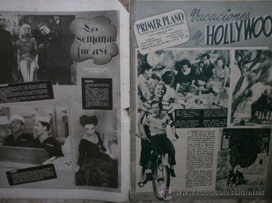 Cine: PRIMER PLANO Nº456.1949.ANN BLYTH,R.CLAIR,O.WELLES,M.DIETRICH,P.VALESKA,L.TAYLOR,T.POWER,ESMERALDA. - Foto 2 - 36690960