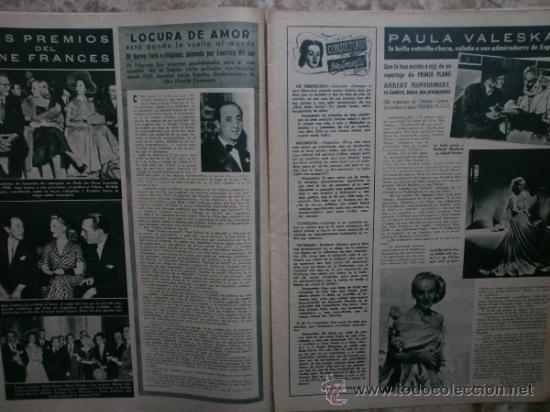 Cine: PRIMER PLANO Nº456.1949.ANN BLYTH,R.CLAIR,O.WELLES,M.DIETRICH,P.VALESKA,L.TAYLOR,T.POWER,ESMERALDA. - Foto 6 - 36690960