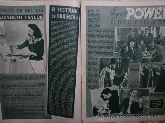 Cine: PRIMER PLANO Nº456.1949.ANN BLYTH,R.CLAIR,O.WELLES,M.DIETRICH,P.VALESKA,L.TAYLOR,T.POWER,ESMERALDA. - Foto 7 - 36690960