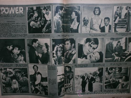 Cine: PRIMER PLANO Nº456.1949.ANN BLYTH,R.CLAIR,O.WELLES,M.DIETRICH,P.VALESKA,L.TAYLOR,T.POWER,ESMERALDA. - Foto 8 - 36690960