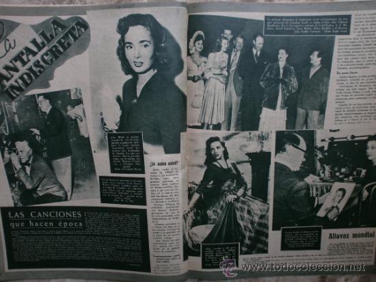 Cine: PRIMER PLANO Nº456.1949.ANN BLYTH,R.CLAIR,O.WELLES,M.DIETRICH,P.VALESKA,L.TAYLOR,T.POWER,ESMERALDA. - Foto 9 - 36690960