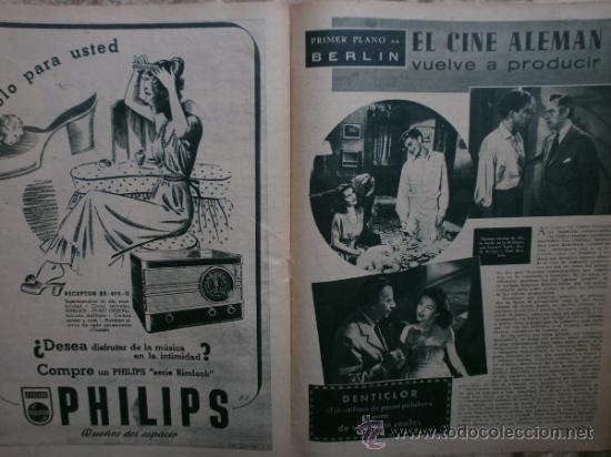 Cine: PRIMER PLANO Nº456.1949.ANN BLYTH,R.CLAIR,O.WELLES,M.DIETRICH,P.VALESKA,L.TAYLOR,T.POWER,ESMERALDA. - Foto 10 - 36690960