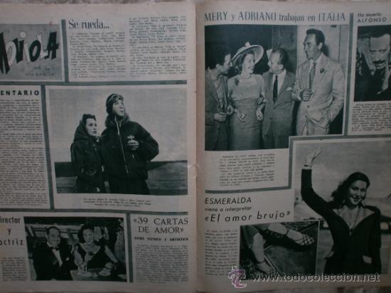 Cine: PRIMER PLANO Nº456.1949.ANN BLYTH,R.CLAIR,O.WELLES,M.DIETRICH,P.VALESKA,L.TAYLOR,T.POWER,ESMERALDA. - Foto 11 - 36690960