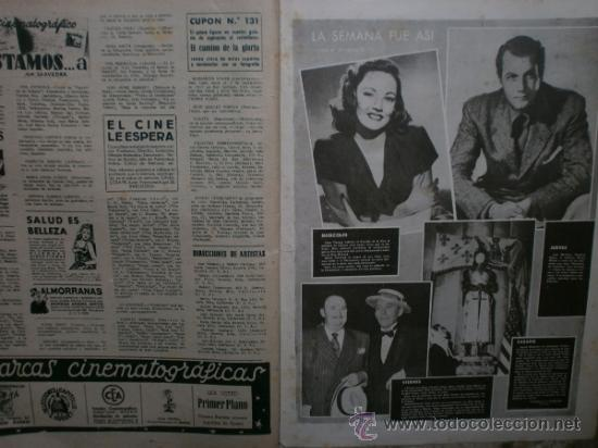 Cine: PRIMER PLANO Nº456.1949.ANN BLYTH,R.CLAIR,O.WELLES,M.DIETRICH,P.VALESKA,L.TAYLOR,T.POWER,ESMERALDA. - Foto 13 - 36690960