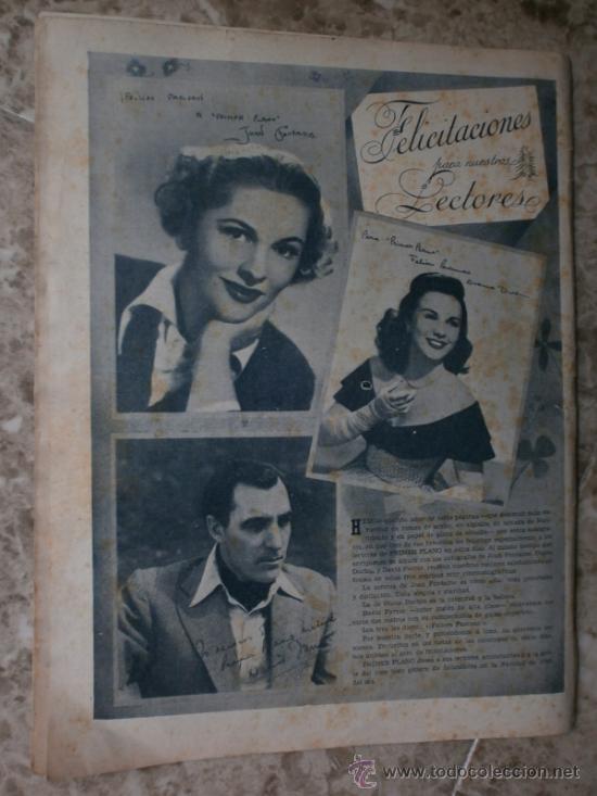 Cine: PRIMER PLANO Nº456.1949.ANN BLYTH,R.CLAIR,O.WELLES,M.DIETRICH,P.VALESKA,L.TAYLOR,T.POWER,ESMERALDA. - Foto 14 - 36690960