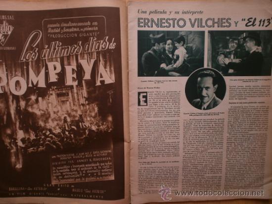 Cine: CINEGRAMAS Nº69.1936.DANIELLE DARRIEUX,G.BRENT,G.FARBO,M.DIETRICH,E.VILCHES,G.STANDING,E.DEL CAMPO. - Foto 6 - 36691888