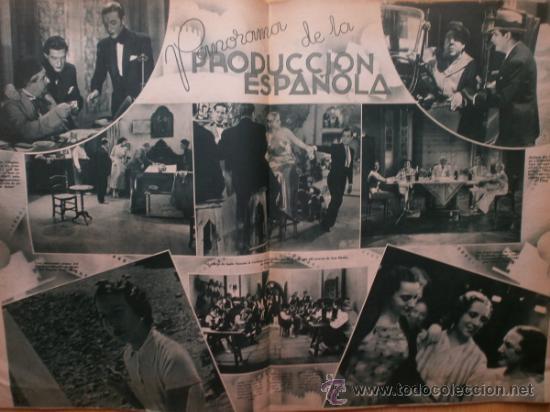 Cine: CINEGRAMAS Nº69.1936.DANIELLE DARRIEUX,G.BRENT,G.FARBO,M.DIETRICH,E.VILCHES,G.STANDING,E.DEL CAMPO. - Foto 8 - 36691888
