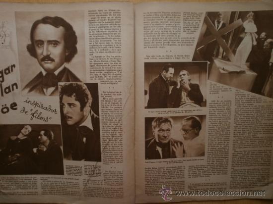 Cine: CINEGRAMAS Nº69.1936.DANIELLE DARRIEUX,G.BRENT,G.FARBO,M.DIETRICH,E.VILCHES,G.STANDING,E.DEL CAMPO. - Foto 10 - 36691888