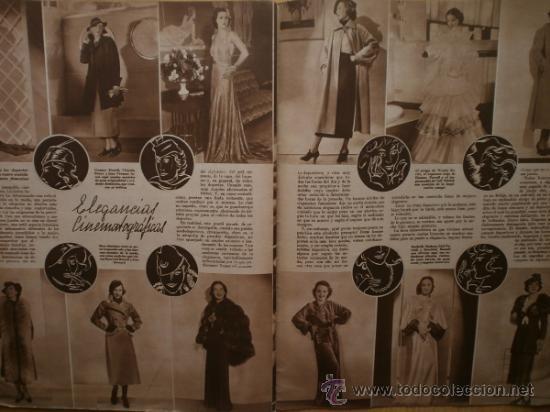 Cine: CINEGRAMAS Nº69.1936.DANIELLE DARRIEUX,G.BRENT,G.FARBO,M.DIETRICH,E.VILCHES,G.STANDING,E.DEL CAMPO. - Foto 15 - 36691888