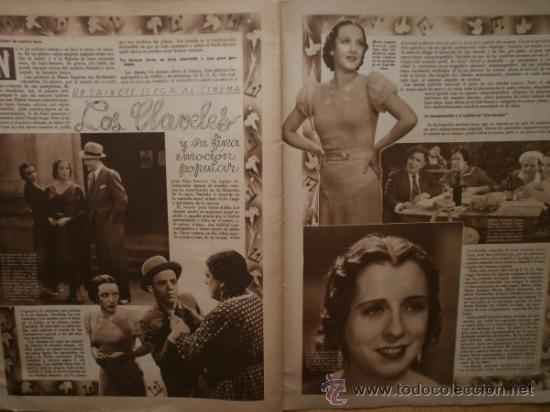 Cine: CINEGRAMAS Nº69.1936.DANIELLE DARRIEUX,G.BRENT,G.FARBO,M.DIETRICH,E.VILCHES,G.STANDING,E.DEL CAMPO. - Foto 16 - 36691888