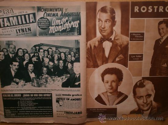 Cine: CINEGRAMAS Nº69.1936.DANIELLE DARRIEUX,G.BRENT,G.FARBO,M.DIETRICH,E.VILCHES,G.STANDING,E.DEL CAMPO. - Foto 17 - 36691888