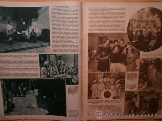 Cine: CINEGRAMAS Nº59.1935.JOAN BENNETT,E.JANNING,B.KEATON,P.MUNI,F.ELIAS,R.KEELER,D.DEL RIO. - Foto 3 - 36692149