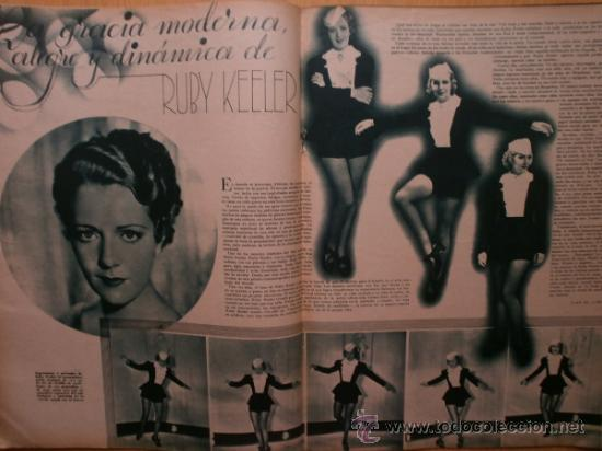 Cine: CINEGRAMAS Nº59.1935.JOAN BENNETT,E.JANNING,B.KEATON,P.MUNI,F.ELIAS,R.KEELER,D.DEL RIO. - Foto 10 - 36692149