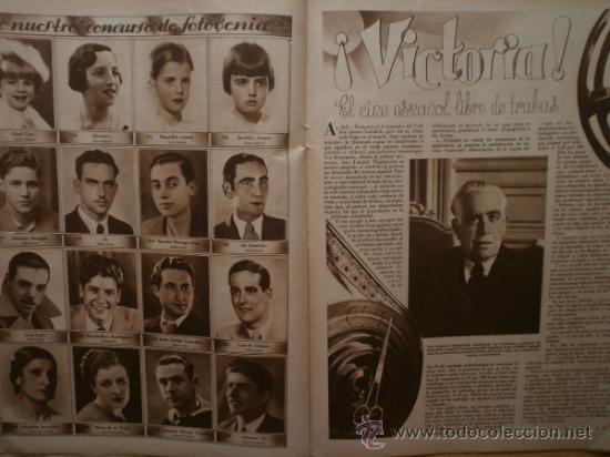 Cine: CINEGRAMAS Nº59.1935.JOAN BENNETT,E.JANNING,B.KEATON,P.MUNI,F.ELIAS,R.KEELER,D.DEL RIO. - Foto 12 - 36692149