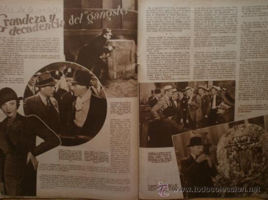 Cine: CINEGRAMAS Nº59.1935.JOAN BENNETT,E.JANNING,B.KEATON,P.MUNI,F.ELIAS,R.KEELER,D.DEL RIO. - Foto 13 - 36692149