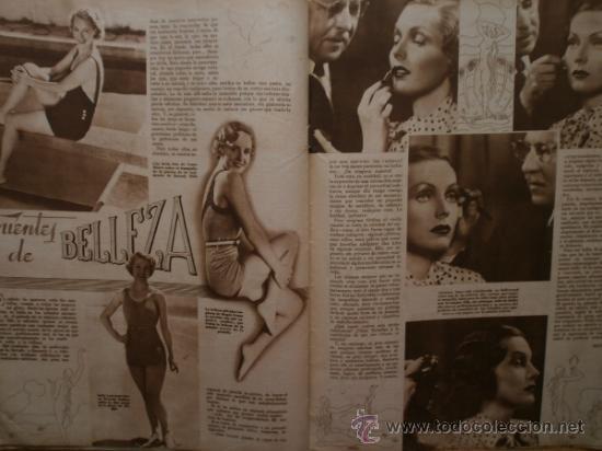 Cine: CINEGRAMAS Nº59.1935.JOAN BENNETT,E.JANNING,B.KEATON,P.MUNI,F.ELIAS,R.KEELER,D.DEL RIO. - Foto 15 - 36692149