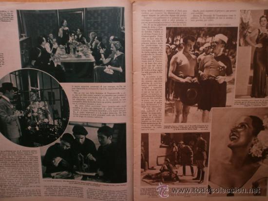 Cine: CINEGRAMAS Nº52.1935.CLAUDETTE COLBERT,S.TEMPLE,F.ASTAIRE,L.YOUNG,A.SANTELL,J.MUIR Y M.REINHARDT. - Foto 3 - 36692242