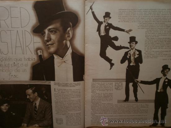 Cine: CINEGRAMAS Nº52.1935.CLAUDETTE COLBERT,S.TEMPLE,F.ASTAIRE,L.YOUNG,A.SANTELL,J.MUIR Y M.REINHARDT. - Foto 5 - 36692242