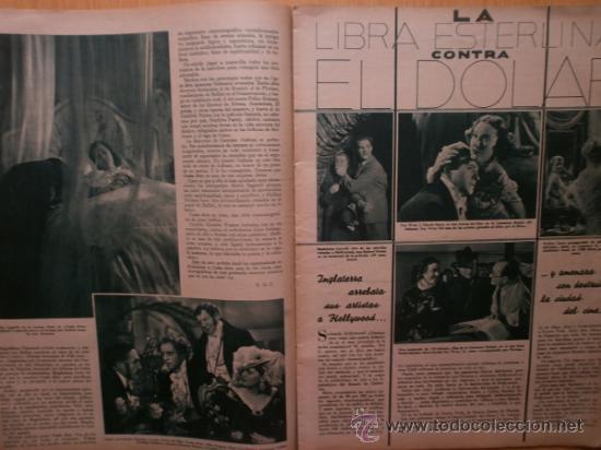Cine: CINEGRAMAS Nº52.1935.CLAUDETTE COLBERT,S.TEMPLE,F.ASTAIRE,L.YOUNG,A.SANTELL,J.MUIR Y M.REINHARDT. - Foto 7 - 36692242