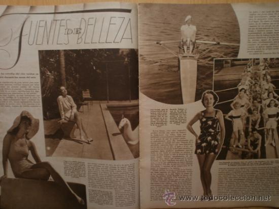 Cine: CINEGRAMAS Nº52.1935.CLAUDETTE COLBERT,S.TEMPLE,F.ASTAIRE,L.YOUNG,A.SANTELL,J.MUIR Y M.REINHARDT. - Foto 9 - 36692242