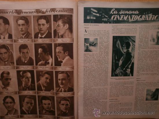 Cine: CINEGRAMAS Nº52.1935.CLAUDETTE COLBERT,S.TEMPLE,F.ASTAIRE,L.YOUNG,A.SANTELL,J.MUIR Y M.REINHARDT. - Foto 10 - 36692242