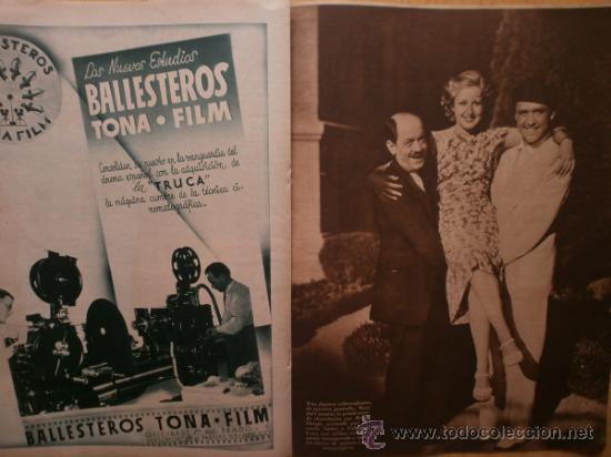Cine: CINEGRAMAS Nº52.1935.CLAUDETTE COLBERT,S.TEMPLE,F.ASTAIRE,L.YOUNG,A.SANTELL,J.MUIR Y M.REINHARDT. - Foto 12 - 36692242