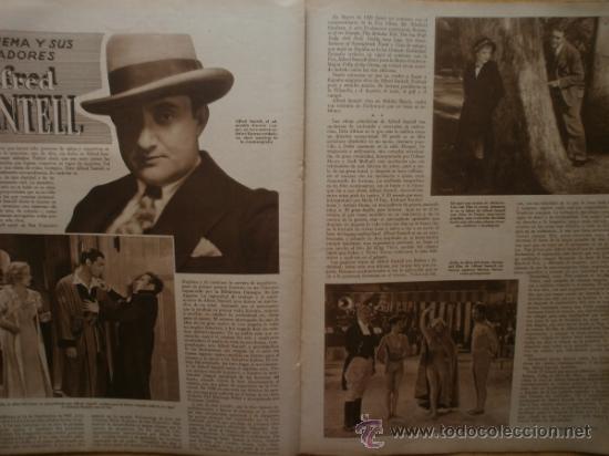 Cine: CINEGRAMAS Nº52.1935.CLAUDETTE COLBERT,S.TEMPLE,F.ASTAIRE,L.YOUNG,A.SANTELL,J.MUIR Y M.REINHARDT. - Foto 13 - 36692242