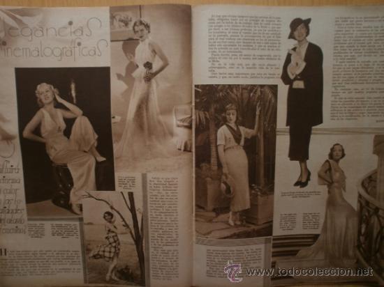 Cine: CINEGRAMAS Nº52.1935.CLAUDETTE COLBERT,S.TEMPLE,F.ASTAIRE,L.YOUNG,A.SANTELL,J.MUIR Y M.REINHARDT. - Foto 14 - 36692242