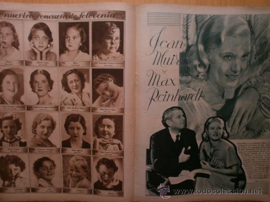 Cine: CINEGRAMAS Nº52.1935.CLAUDETTE COLBERT,S.TEMPLE,F.ASTAIRE,L.YOUNG,A.SANTELL,J.MUIR Y M.REINHARDT. - Foto 15 - 36692242