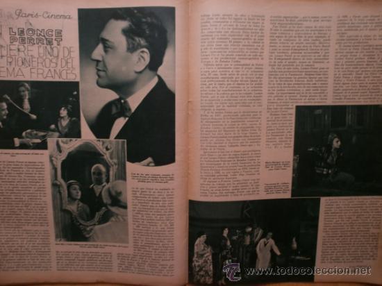 Cine: CINEGRAMAS Nº52.1935.CLAUDETTE COLBERT,S.TEMPLE,F.ASTAIRE,L.YOUNG,A.SANTELL,J.MUIR Y M.REINHARDT. - Foto 16 - 36692242