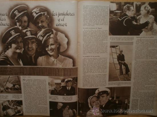 Cine: CINEGRAMAS Nº52.1935.CLAUDETTE COLBERT,S.TEMPLE,F.ASTAIRE,L.YOUNG,A.SANTELL,J.MUIR Y M.REINHARDT. - Foto 17 - 36692242