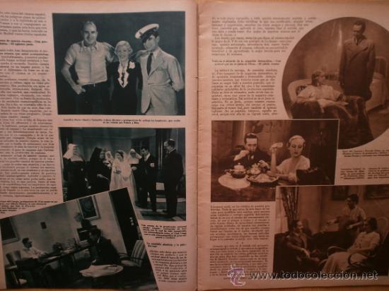 Cine: CINEGRAMAS Nº58.1935.FRANCES GRANT,G.RAFT,S.TEMPLE,V.FLEMING,J.HARLOW,H.CAHAGAN,M. DEL CARMEN. - Foto 3 - 36692635