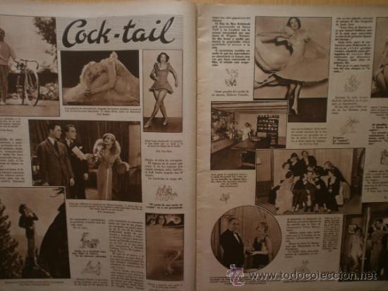 Cine: CINEGRAMAS Nº58.1935.FRANCES GRANT,G.RAFT,S.TEMPLE,V.FLEMING,J.HARLOW,H.CAHAGAN,M. DEL CARMEN. - Foto 4 - 36692635