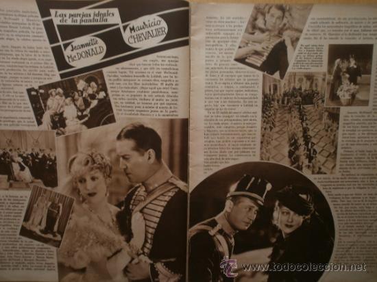 Cine: CINEGRAMAS Nº58.1935.FRANCES GRANT,G.RAFT,S.TEMPLE,V.FLEMING,J.HARLOW,H.CAHAGAN,M. DEL CARMEN. - Foto 5 - 36692635