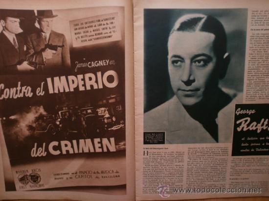 Cine: CINEGRAMAS Nº58.1935.FRANCES GRANT,G.RAFT,S.TEMPLE,V.FLEMING,J.HARLOW,H.CAHAGAN,M. DEL CARMEN. - Foto 6 - 36692635