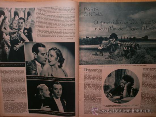Cine: CINEGRAMAS Nº58.1935.FRANCES GRANT,G.RAFT,S.TEMPLE,V.FLEMING,J.HARLOW,H.CAHAGAN,M. DEL CARMEN. - Foto 7 - 36692635