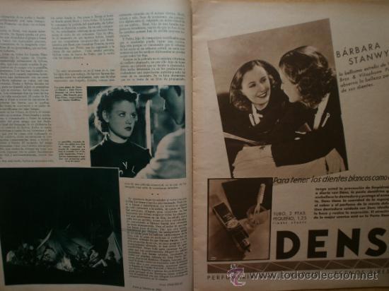 Cine: CINEGRAMAS Nº58.1935.FRANCES GRANT,G.RAFT,S.TEMPLE,V.FLEMING,J.HARLOW,H.CAHAGAN,M. DEL CARMEN. - Foto 8 - 36692635