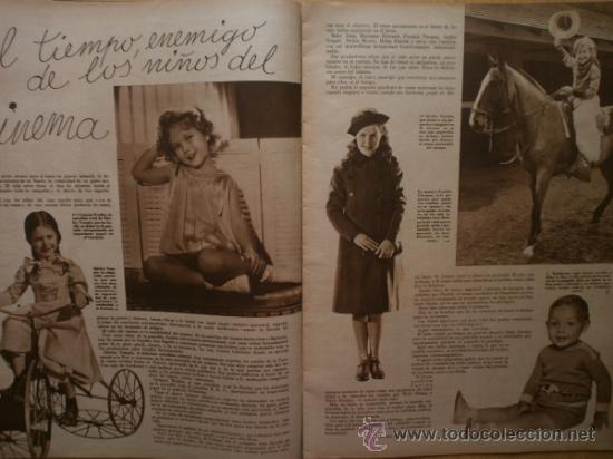 Cine: CINEGRAMAS Nº58.1935.FRANCES GRANT,G.RAFT,S.TEMPLE,V.FLEMING,J.HARLOW,H.CAHAGAN,M. DEL CARMEN. - Foto 9 - 36692635